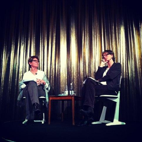 Gudrun Schyman och Maud Eduards Foto könspolitiska nyckeltexter