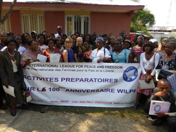 På workshop i Kinshasa om IKFF:s 100-års jubileum 2015.
