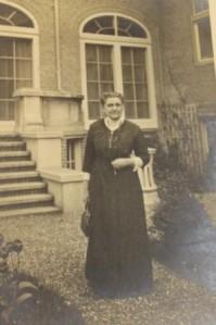 IKFF:s första internationella ordförande, Jane Addams.