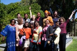 IKFF DR Kongo, Nigeria, Ghana, Kamerun, Sverige och huvudkontoret i Genève på plats i Sydafrika för att diskutera hur vi kan samarbeta över nationsgränserna. Foto: Maryatta Wegerif.