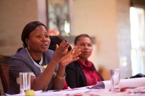 Sylvie Ndongmo, ordförande IKFF Kamerun, berättar om hur våldet sprider sig från Nigeria in i landet. Konfliktförebyggande arbete är av största vikt för att Kamerun inte ska gå i Nigerias fotspår.